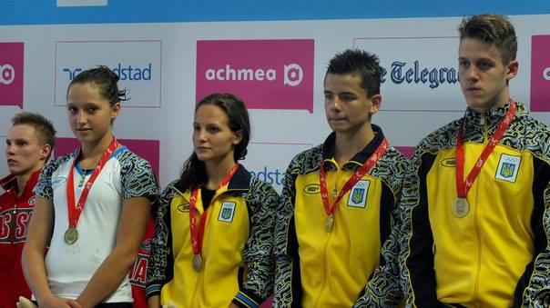 Украинские пловцы завоевали на Кипре 17 медалей и установили три рекорда