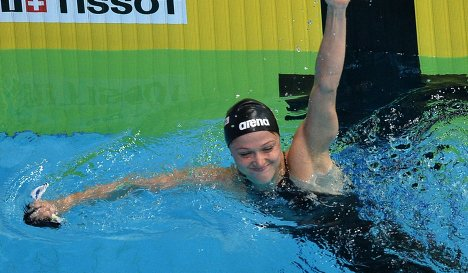 Александра Герасименя стала бронзовым призером чемпионата мира поплаванию